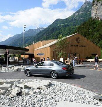 Erhältlich bei der Gotthard Raststätte